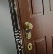 puerta acorazada dierre doble cerradura